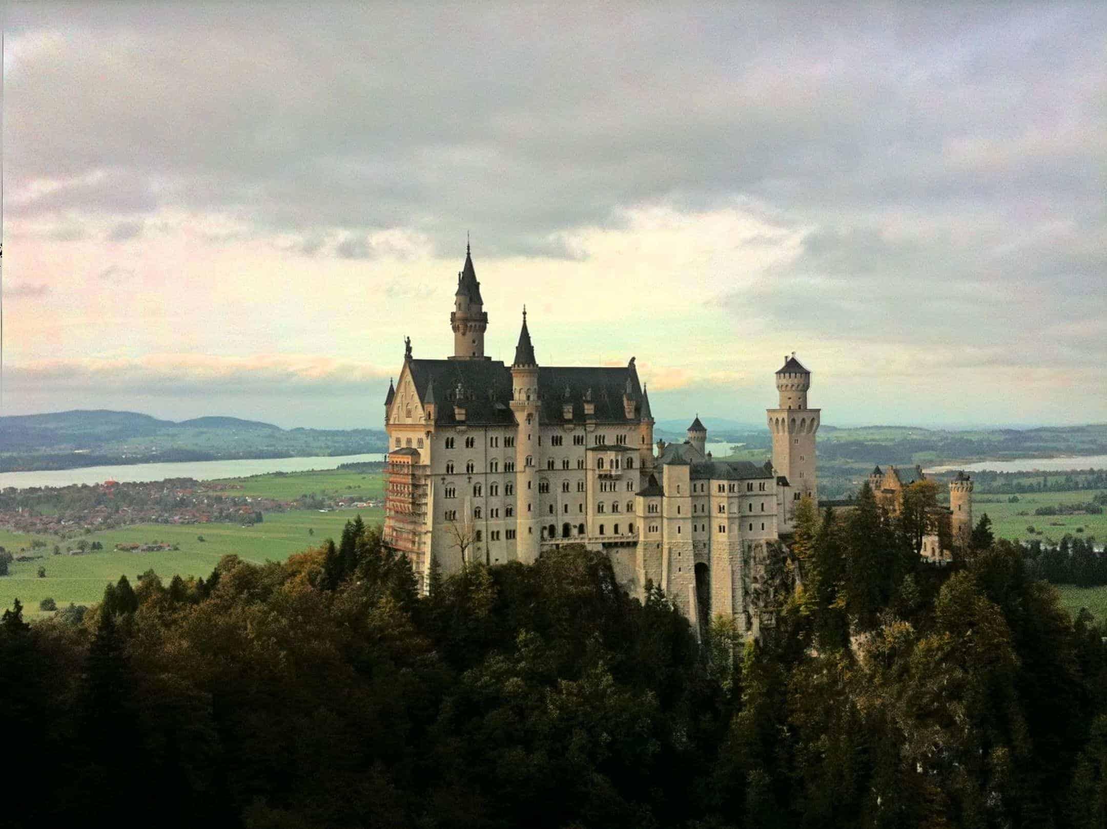 Füssen /  Schloss Neuschwanstein (2011)