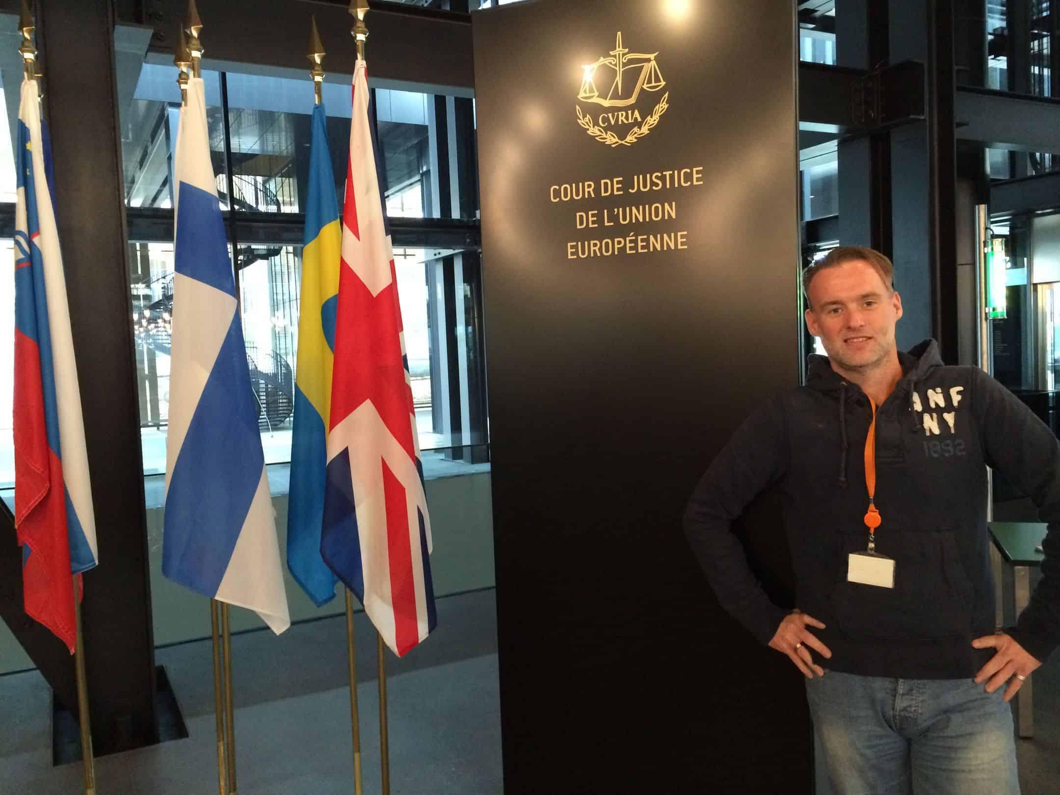 Besuch beim Europäischen Gerichtshof (2016)
